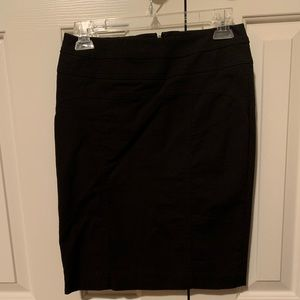 INC Black Pencil Skirt